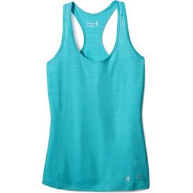 Smartwool Merino 150 Pattern Ondergoed bovenlijf Dames turquoise